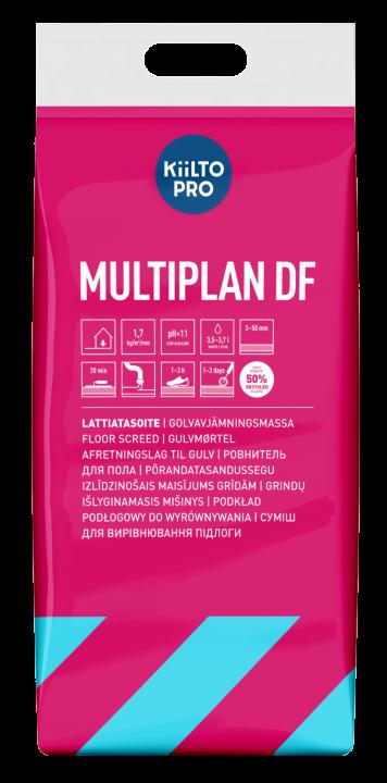 Kiilto Multiplan DF Lattiatasoite  3–50 mm