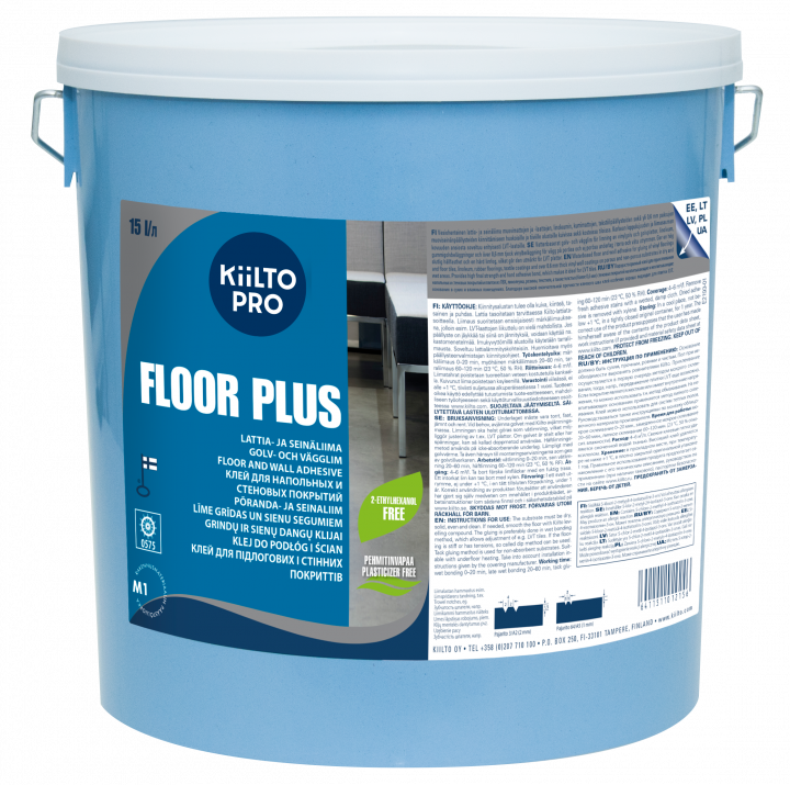Kiilto Floor Plus Golv-och Vägglim
