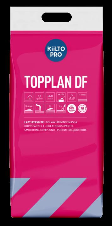 Kiilto TopPlan DF Golvavjämnings- massa 1–10 mm
