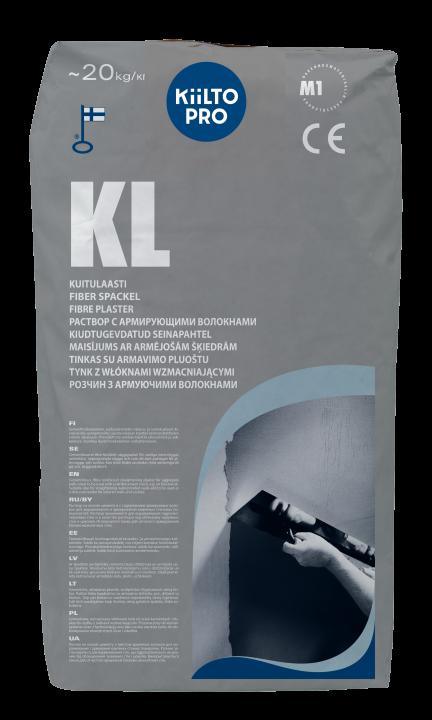 Kiilto KL Kuitulaasti          3–15 (30) mm