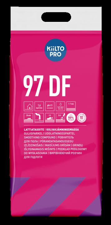 Kiilto 97 DF Lattiatasoite  1-7 mm
