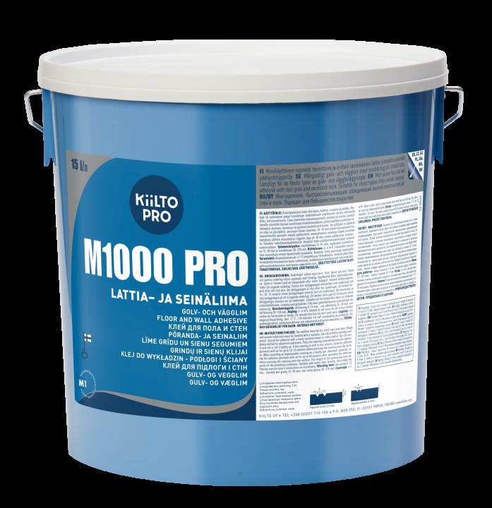 Kiilto M1000 Pro Lattia- ja seinäliima