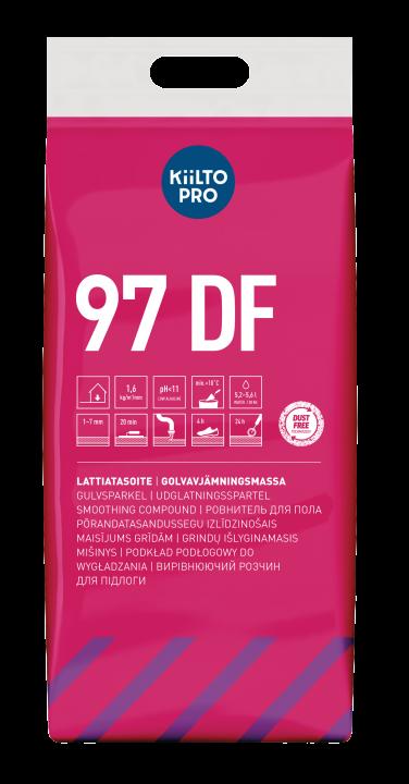 Kiilto 97 DF Lattiatasoite 1–7 mm