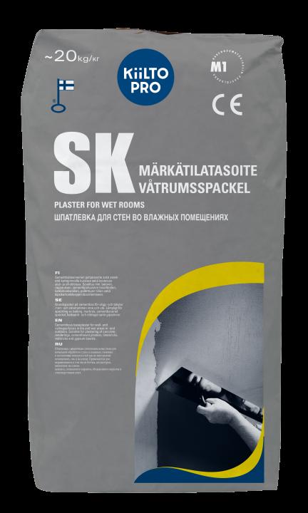 Kiilto SK Märkätilatasoite 1–3 (10) mm