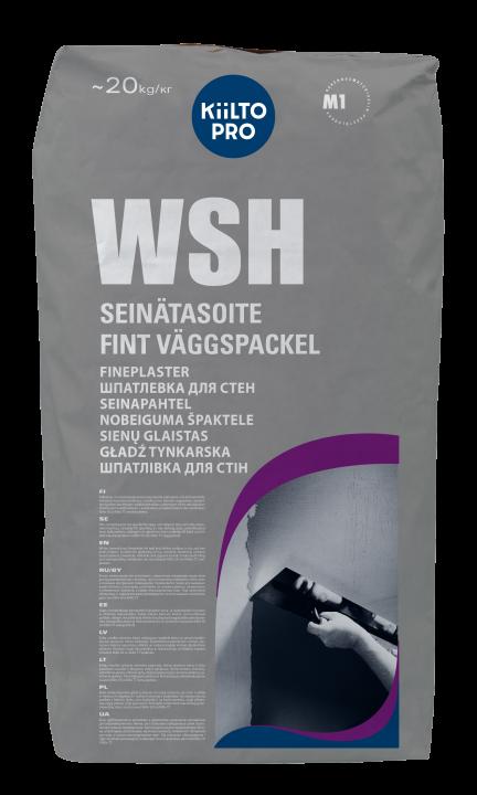 Kiilto WSH Pintatasoite 1–2 mm