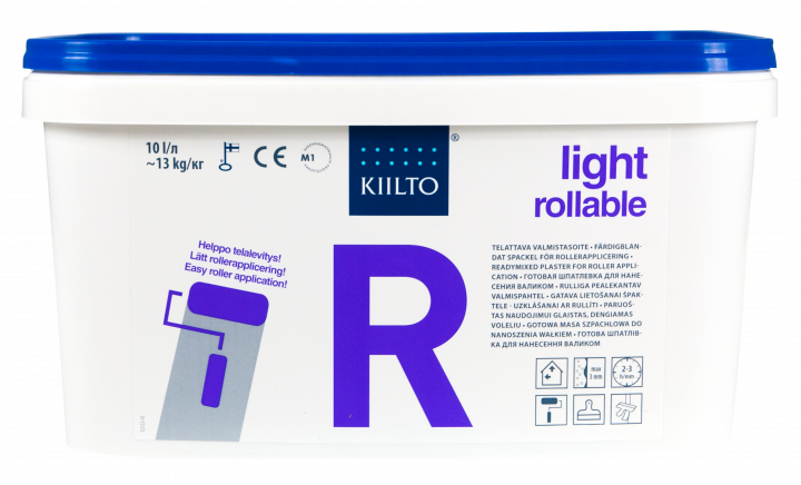 Kiilto R Rollable ready-mixed plaster