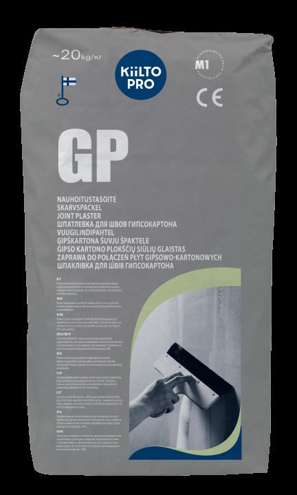 Kiilto GP Nauhoitustasoite 1–3 mm