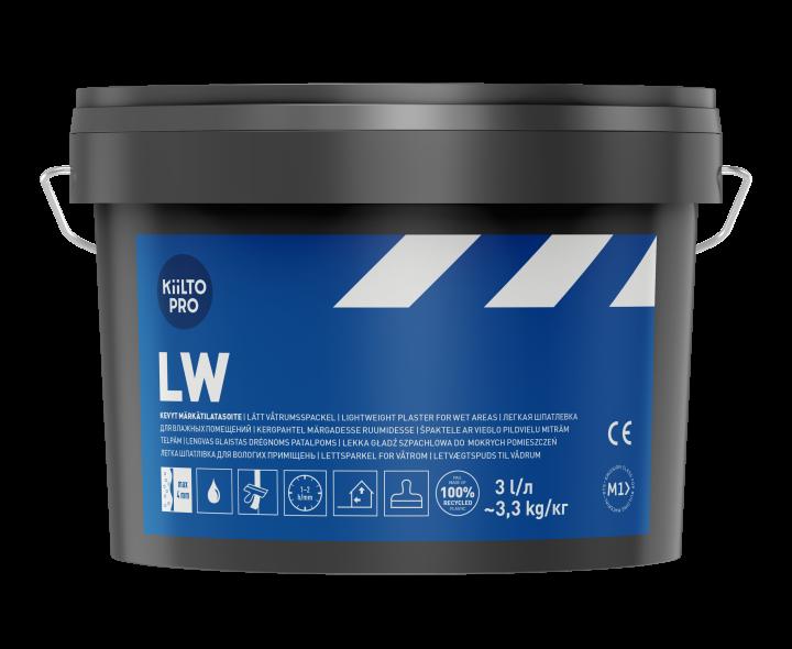 Kiilto LW Легкая шпаклевка для влажных помещений