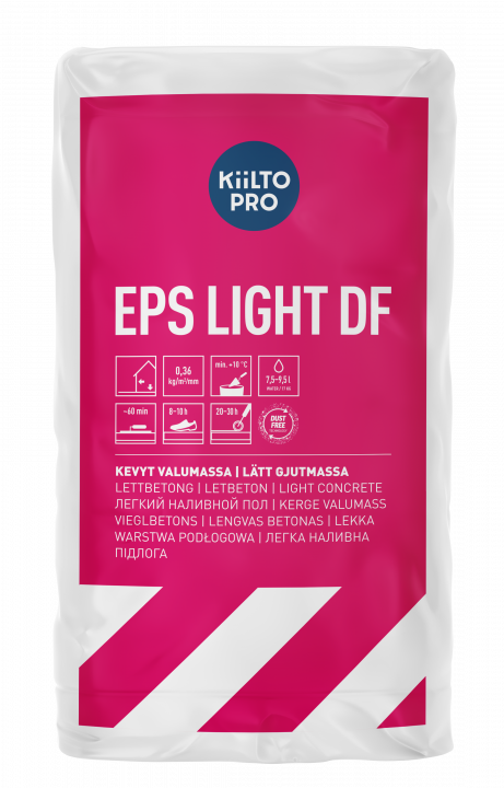 Kiilto EPS Light DF Lattiamassa